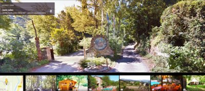 Google Street View au Camping Isis