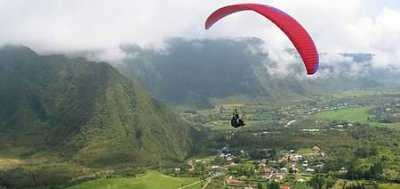 Parapente camping Isis