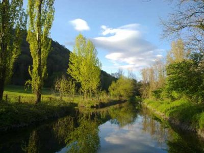 Canal du camping