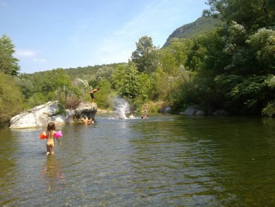 Camping Isis baden am Fluss
